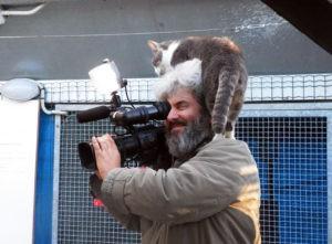 Antonio e il cameraman
