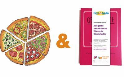 Una pizza d'asporto e il nostro libro… per la casa di cure veterinarie!