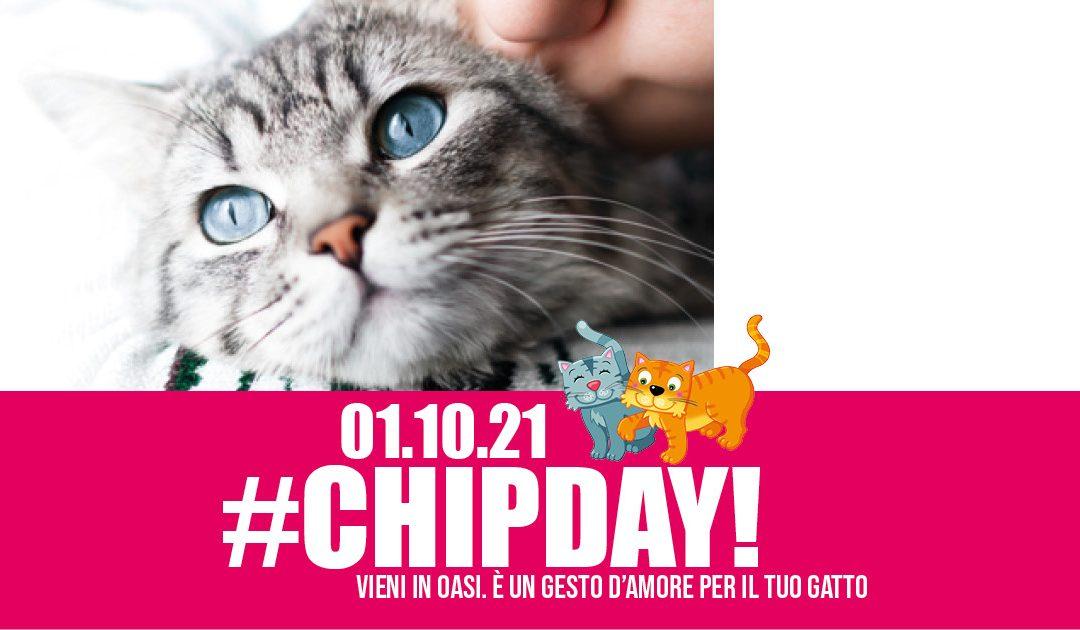 01.10.21 Porta il tuo gatto in Oasi per il #CHIPDAY